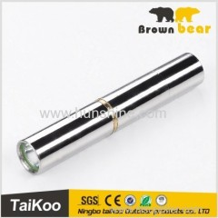 aluminum mini led flashlight