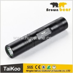 aluminum q3 small led flashlight
