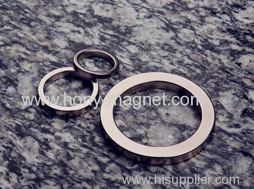 Customized Size Ring Neodymium Magnet