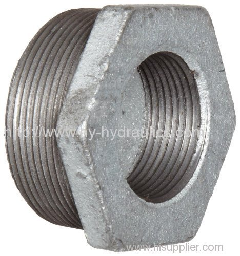 Hex Bushing Galvanized Finish