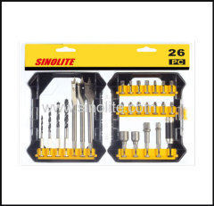 26pcs: Magnetic nut set