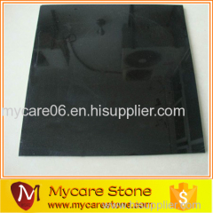 Wholesale beautiful polished granite absolute black tile for sale