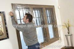 Outdoor window insulator kit