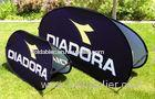 Double Stitched Popup A Frame Banner / Outdoor Pop Up Banners For Sports / Exhibition