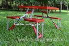 Custom Easy Carry Folding Camping Table And Chairs For Promotion Event