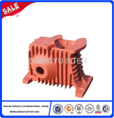 Ductile iron gear reducer price casting parts
