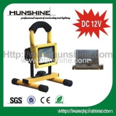 DC 12V 10w dimmable led flood light with dimmer switch