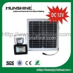 factory price hot sale DC 12V solar led flood light 10w flood light solar flood light