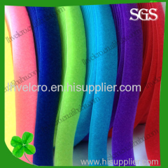 good quality colored nylon velcro/velcro hook and loop strap