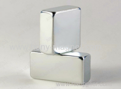 Neodymium Block Magnets with Nickel-copper-nickel Plating