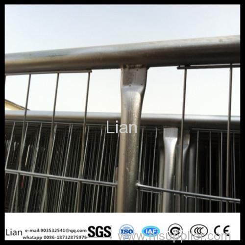 Стойкий 2.1x2.4M сетка сварная размер 60x150mm временная панель Забор