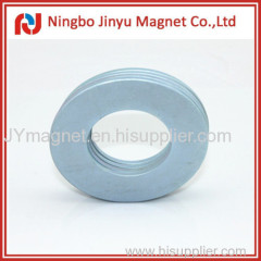 Big zinc ring strong magnetic product in ndfeb material