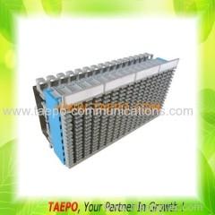 128 pairs MDF terminal block for horizontal side