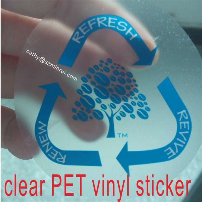 Custom Car Window Decal And Transparent Static Cling Sticker - Clear vinyl stickers