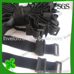 100% Nylon Velcro Straps with Buckle
