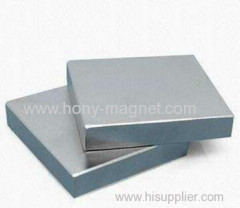 Sintered N45 Strong Neodymium Block Magnet