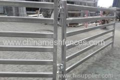 5 Rails Oval Tube Sheep Yard Panel