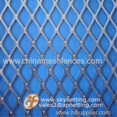 galvanized expanded wire mesh