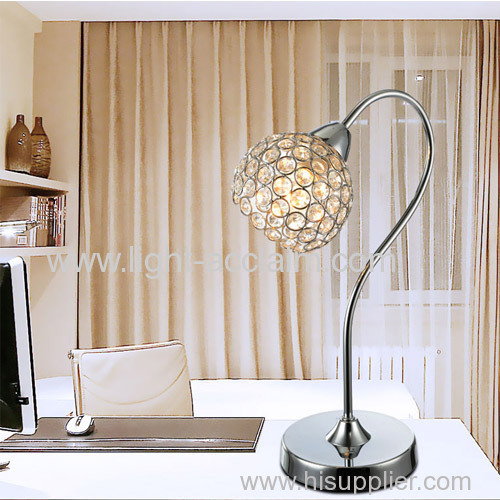 2015 new crystal table lamp Crystal wrought iron lamps contemporary table lamps