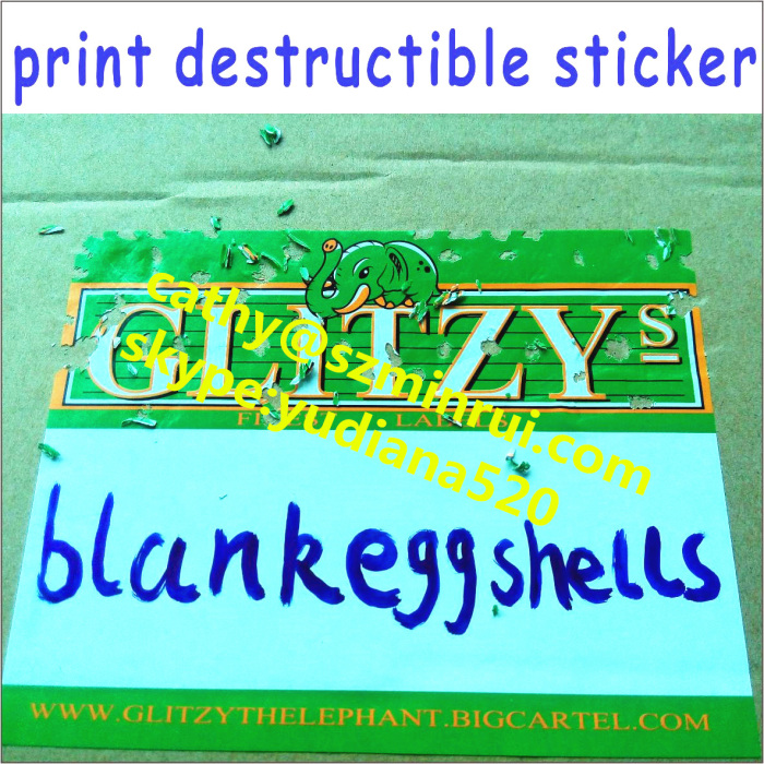 Custom Any Size Shap Color Non Removable Print