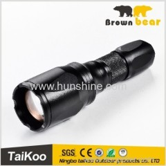 high power led super ray flashlight