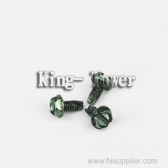 stainless steel knurled rocky thumb shoulder screw