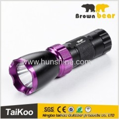 bright light torch rechargeable long range with 4*18650 batteries