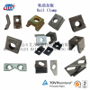 Rail Clamp With Bolt, SGS Proved Rail Clamp Jiangsu Producer, Lowest Price Rail Clamp Supplier