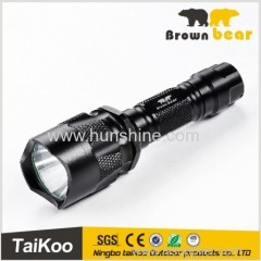 supper bright police led flashlight