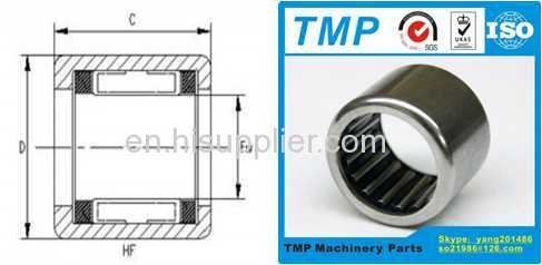 HF0612 One Way Clutches Roller Type (6x10x12mm) Drawn Cup