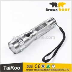 18650 rechargeable battery aluminum q5 led husky led flashlight