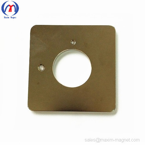 Neodymium semi-rectangular custom magnets