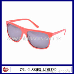 2015Top Quality New Style Red Frame Sunglasses