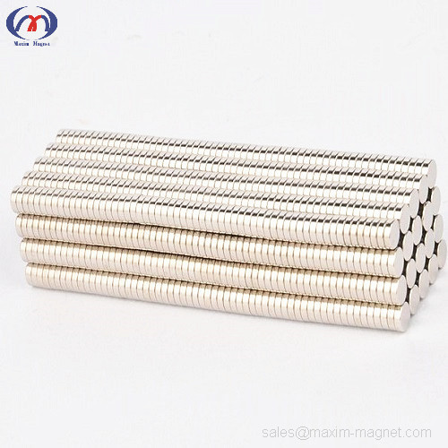 Neodymium disc magnets N35 D10x2mm