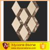 Crema Marfil Marble and Dark Emperador Mix mosaics