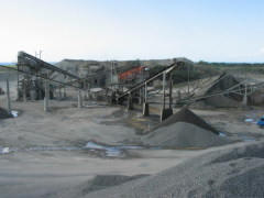 impact crusher used for crushing line