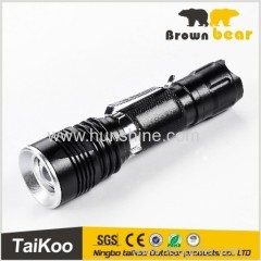 best seller Q5/XPE zoomable pocket torch