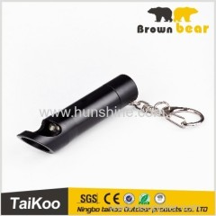 1w mini led aluminum keychain