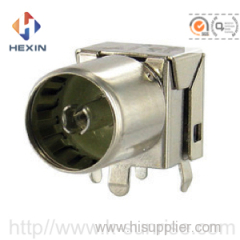 female connector with shield