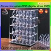 Promotional acrylic box watch display stand