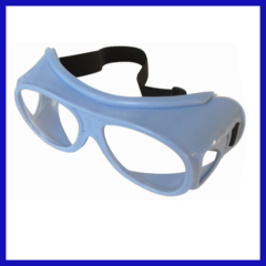 Side-protective x ray lead glasses