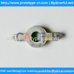 OEM aluminum lens frame of digital cameras by CNC machining in China