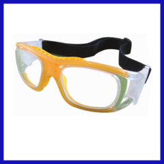 Side-protective X-ray protective lead glasses