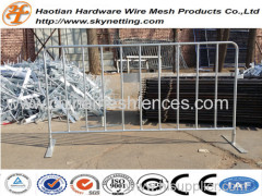 various type of long lasting hot dipped galvanized crowd control barricades