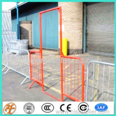 crowd control barrier temporary pedestrian barricade