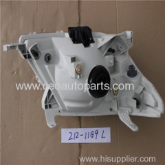 Fanale anteriore vettura made in Cina per Toyota Hilux Cina produttore