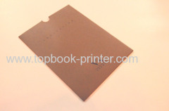 Semi-Gloss Paper Envelope-Type Softcover Book