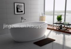 Customized Freestanding Composite Resin Artificial Stone Bathtub