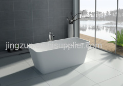 Freestanding Bathtub Artificial Stone Bathtub
