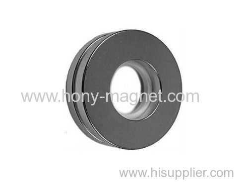 Neodymium Magnets 2 x 1 x 1/4 inch Ring N48